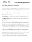 Product Warranty Return Authorization Form