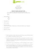 Return Authorization Form - O.penvape