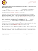 Consent/release Of Information Authorization Form For The Pennsylvania Child Abuse History Clearance - Milestone Academy