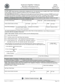 Department Of Homeland Security - Form I-9 Employment Eligibility Verification