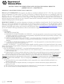 Va Form 21-530 - Application For Burial Benefits printable pdf ...