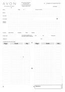 Form Fsc 870104 - Avon Order Form - I Love Avon