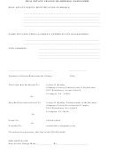 Real Estate Change Of Address / Name Form