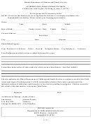 Authorization For Background Check Form