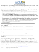 Out-of-network Claim Form