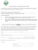 Vendor Workers' Compensation Waiver Form