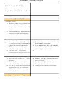 Mission Daily Clock Ubd Lesson Plan Template