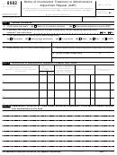 Form 8082 (rev. January 2000)