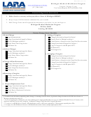 Patient Change Form - State Of Michigan