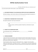 Hipaa Authorization Form - Ren Dermatology