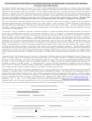 Asa Background Check Release And Authorization Form For Independent Contractors And Volunteers Disclosure And Authorization