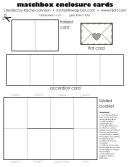 Matchbox Enclosure Cards