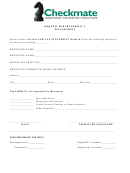 Request For Irs Form W-2