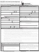 Form Dl-135 - Request For Vehicle Information