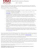 Dsc Parent Loan (plus) Application