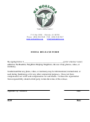 Media Release Form - Na Hoaloha