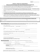 Project Request/agreement Template