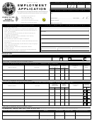 36 state employment application form templates free to download in pdf