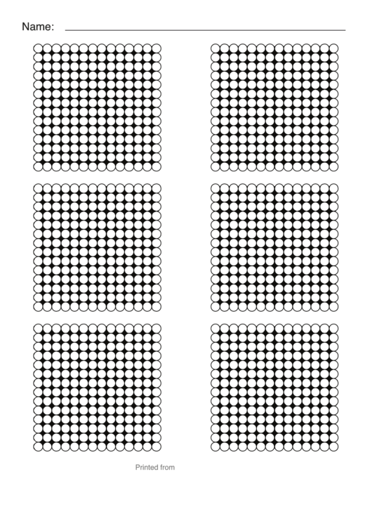 perler bead templates  small hexagon sheet  printable pdf