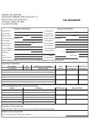 Tax Organizer Template - 2008
