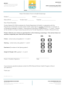 Parent Permission Form For Health Screenings