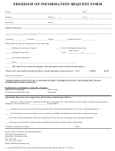 Freedom Of Information Request Form - Ogle County