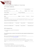 1-20 Application (certificate Of Eligibility For F-1 Student Status)