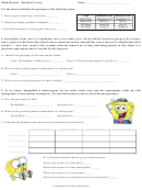 Bikini Bottom - Dihybrid Crosses Worksheet Template