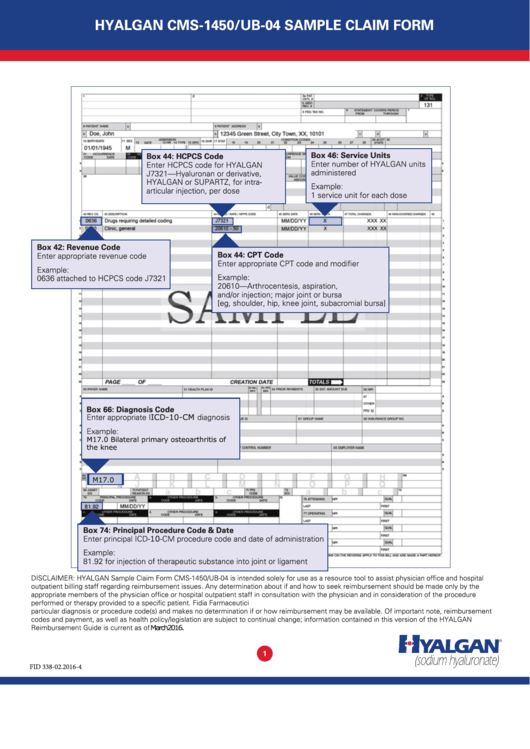 Top Ub 04 Form Templates Free To Download In Pdf Format