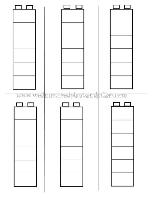 Pillars Template Printable pdf
