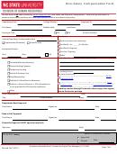 Non-salary Compensation Form