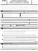 Form W-8imy - Certificate Of Foreign Intermediary, Foreign Flow-through Entity, Or Certain U.s. Branches For United States Tax Withholding - 2006