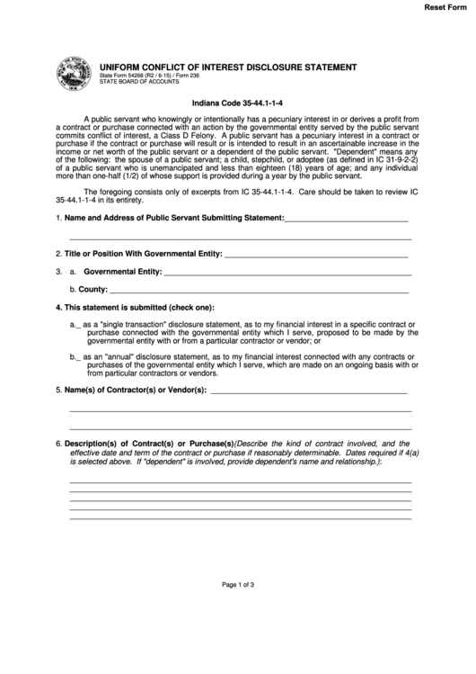 25 Conflict Of Interest Form Templates free to download in PDF