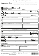 Change Of Landlord/agent Form