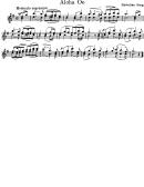 Violin Aloha Oe - Hawaiian Song