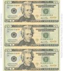 Twenty Dollar Bill Template - Front
