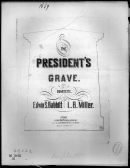 The President Grave By Miller - Piano Sheet Music