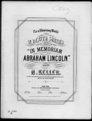 In Memoriam Abraham Lincoln By Keller Piano Sheet Music