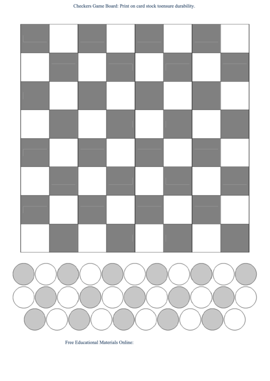 Checkers game board template b w printable pdf download for Chinese checkers board template
