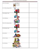 Sample Preschool Schedule Template