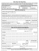 Ohio New Hire Reporting Form