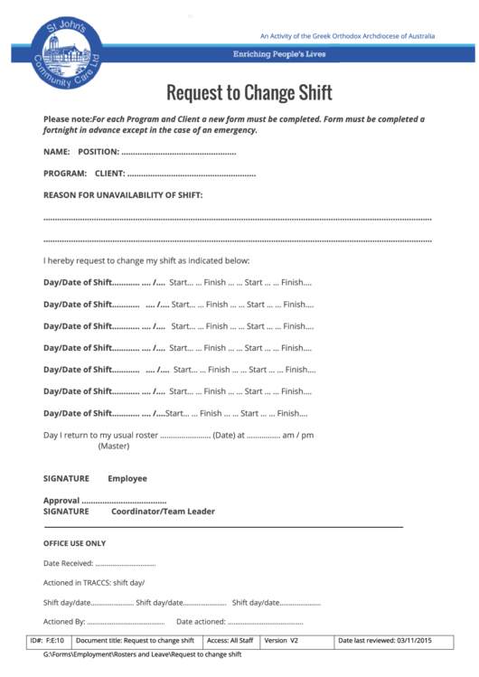 payroll status change form template overtime claim word