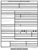 Form 9124 - Affidavit Of In Loco Parentis Relationship - 2011