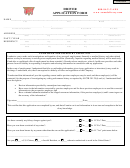 Driver Application Form