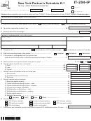 It-204-ip - New York Partner's Schedule K-1