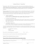 Advance Directives - Living Wills