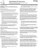 Form Ct-6-i July 2006, Instructions
