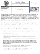 Service-connected Disabled Veteran (iserve) License Plates Request Form - Illinois Secretary Of State