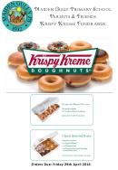 Worksheet Krispy Kreme Fundraiser