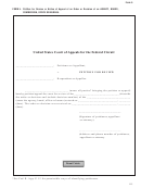 Form 5 - Petition For Review Or Notice Of Appeal Of An Order Or Decision Of An Agency, Board, Commission, Office Or Bureau